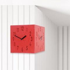 친환경모던코너양면시계(2colors)