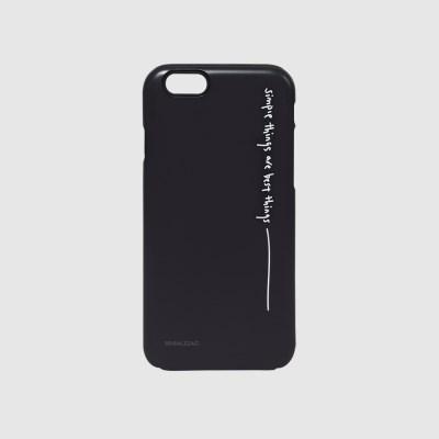 [스리살짝] simple things (black) 터프케이스