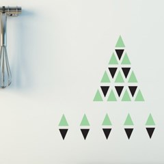 [Yes109]Triangle Deco