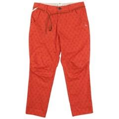 [2ND CORNER] 세컨드코너 롤업 배기 팬츠 AUSTIN - RED