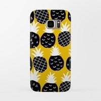 Black Pineapple 갤럭시 하드케이스