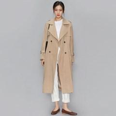 spring side slit trench coat (2 colors)_(515537)