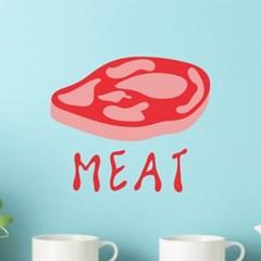 meat 포인트 스티커