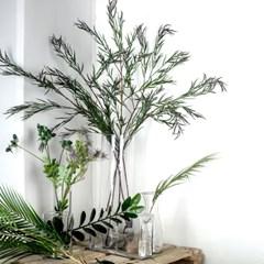 인테리어 조화 대형 버드나무잎 (willow leaves)
