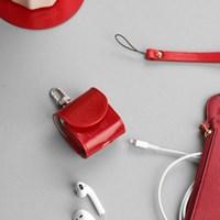 한스마레 애플 에어팟 케이스 - 레드