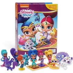 Shimmer and Shine My Busy Book 피규어북