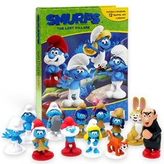 Smurfs : The Lost Village My Busy Book 피규어북