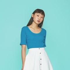 Marshmallow Knit Top