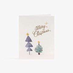 성탄트리 둘 카드