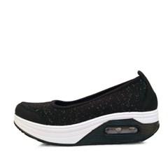 kami et muse Glittering kint air wedge sneakers _KM17s078