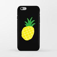 Yellow Pineapple 아이폰 범퍼케이스