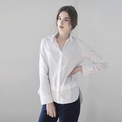 Layered Shirt - White