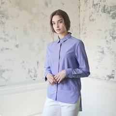 Layered Shirt - Blue Stripe