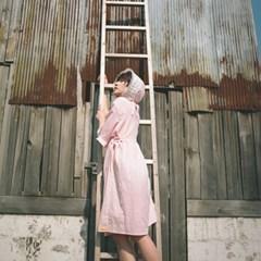 분홍빛 새벽 *보닛 미포함