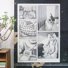 고양이삼촌 포스터시리즈 6종