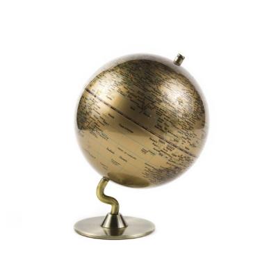 골드메탈 지구본 13cm