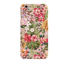 Pink Tropical Flower (HF-116A) Hard Case