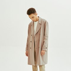 Relax Double Button Trench (Sand Beige)
