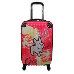 Cute Buddy-핑크 20형 캐리어 여행가방