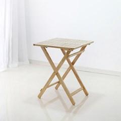 [스크래치] 원목 아웃도어 접이식 (폴딩)테이블 basic