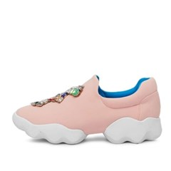 kami et muse Jewel color beads soft sneakers_KM17s110
