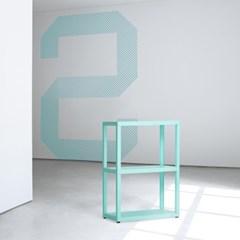 유어쉘프 2단 선반 (스카이민트)
