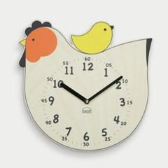 [BEZIT] 행운의 닭 무소음 벽시계