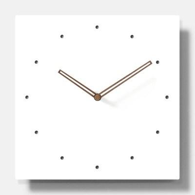 심플 무소음 벽시계(사각E)