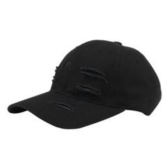 [알슨]AC-016WASHED VINTAGE STRAP BASEBALL CAP (BK)_(2165522)