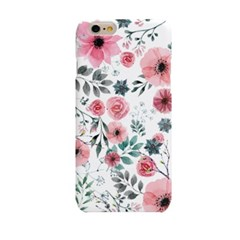 Rex Pink Watercolor Flower (HF-127A) Hard Case