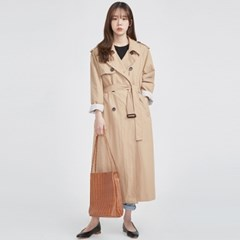 FRESH MORE over trench coat ( BEIGE )_(568557)