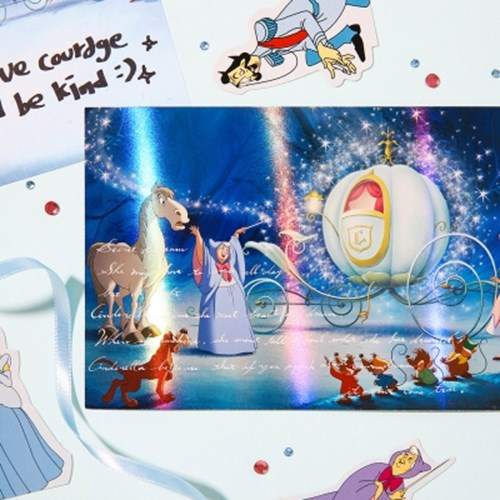 [Disney]Princess_Hologram Post Card