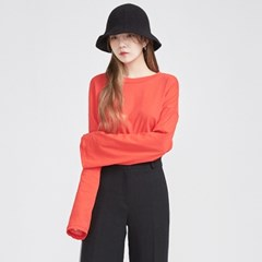 basic long sleeve round T (5 colors)_(569074)
