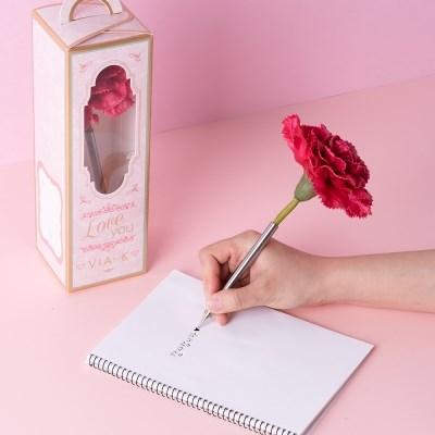 카네이션 플라워 펜
