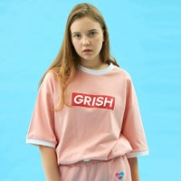 GRISH Signature T-SHIRT-(PINK)