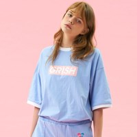 GRISH Signature T-SHIRT-(SKY BLUE)