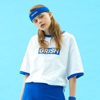 GRISH Signature T-SHIRT-(BLUE)
