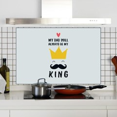 [트리빔하우스] 주방 쿡 인테리어 보드 800X500