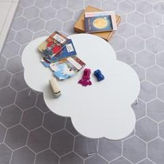 이지 구름 테이블 화이트