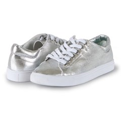 [DAYTRIP] SNEAKERS FLORA LACEUP SILVER