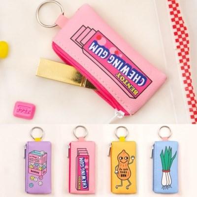 달콤 열쇠고리 지갑