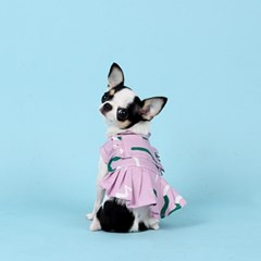 지렁이원피스 DUMMY WORM DRESS [PINK]