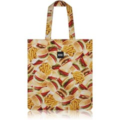 nother Buger & Fries Flat Tote Bag