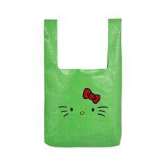 [Hello Kitty] Kitty Face Market Bag(Green)_(528963)