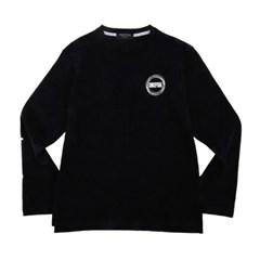 Circle Long Sleeve T-shirt Black