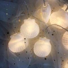 Aloha Shell String Lamp