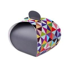조각보 보자기 상자 (2개)