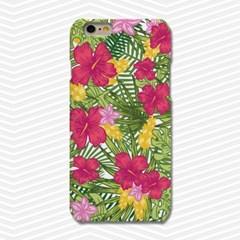 냥코케이스 하드케이스 하와이언플라워(alohaflower)