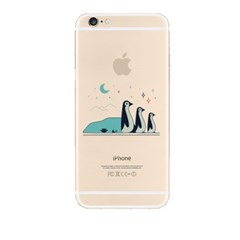 Penguin Familly (JA-001B) Jelly Case