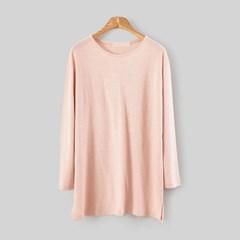 Linen Loose T-SHIRT (4-color)